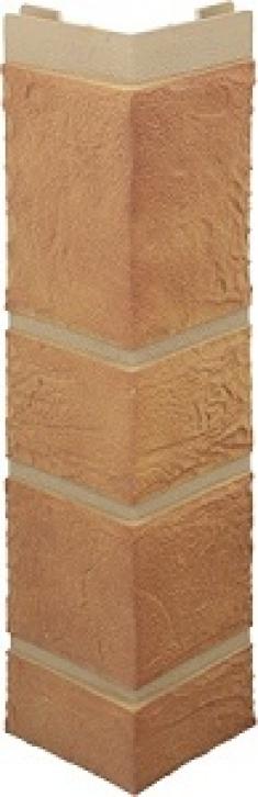 Наружный угол камень (бежевый), 0,47 х 0,11м