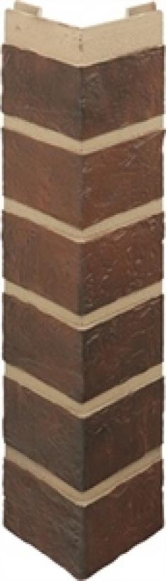 Наружный угол кирпич (жженый), 0,47 х 0,1м